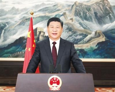 国家主席习近平发表二〇一七年新年贺词 (西班牙语中文双语版)