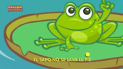 西语儿歌:《El Sapo  青蛙》