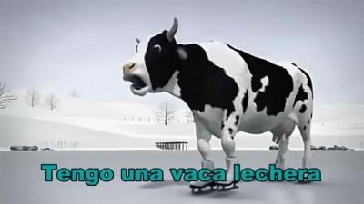 西语儿歌:《La Vaca Lechera 奶牛》