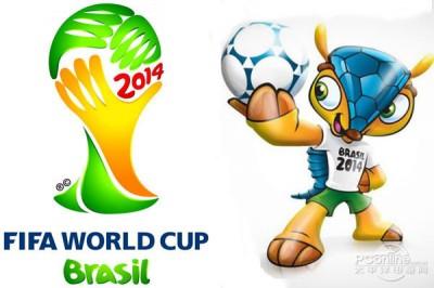 2014巴西世界杯开幕式主题曲:《We Are One》