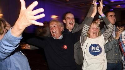 西语新闻:苏格兰公投独立失败