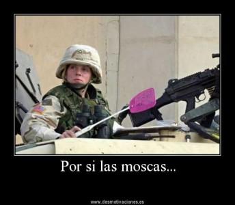 西语谚语:Por si las moscas