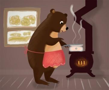 西班牙语有声书:《金发姑娘和三只熊》