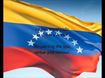 西语歌曲:Venezuelan National Anthem 委内瑞拉国歌