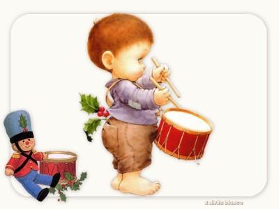 西班牙语圣诞歌曲:El Tamborilero 小鼓手