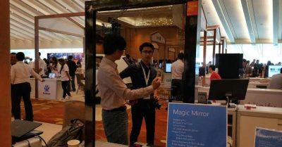 慢速西语:微软展示神奇魔镜