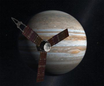 """慢速西语:美国""""朱诺号""""探测器进入木星轨道"""