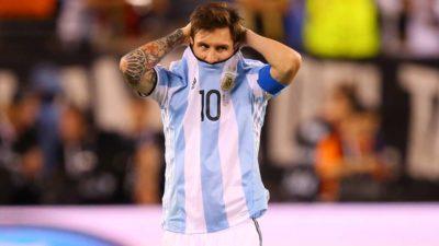 慢速西语:梅西宣布退出国家队