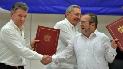 慢速西语:哥伦比亚政府与反叛武装达成历史性停火协议