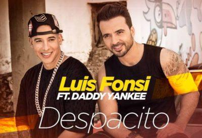 2017西班牙语歌曲收听冠军:《Despacito》 Luis Fons 版